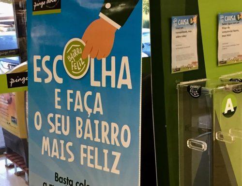 """Lar Familiar Tranquilidade é causa a votos na iniciativa """"Bairro Feliz"""" do Pingo Doce"""